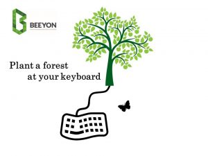 Feburary 2018 : Adopt a Tree; Offset the carbon foot print of your laptop