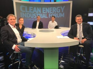 22nd February 2018:  Damian Dalton, CEO Beeyon invited to live studio discussion at EU Commission HQ  on Innovation and Cleantech with EU Vice President Maros Sefcovic.