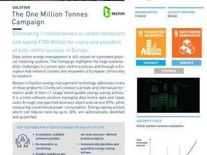 1 Million Tonnes Campaign and Solar Impulse
