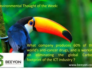 Global Carbon Footprint of the ICT Industry